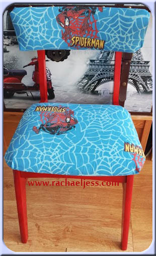 Lessons Learnt On How To Reupholster A Chair Spider Man