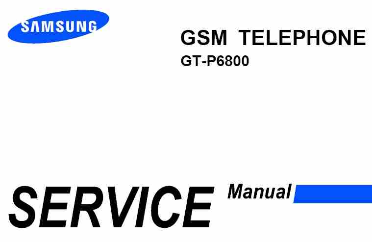 gt p6800 service manual car owners manual u2022 rh karenhanover co