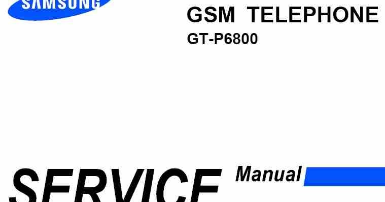 samsung gt p6800 service manual download service manual rh servicemanualguidepdf blogspot com