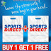 Sports Direct Kuwait - Buy 1 Get 1 FREE on selected items