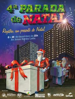 Registro-SP se prepara para a 4ª Parada de Natal