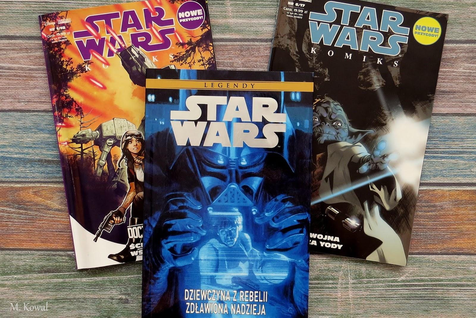 Star Wars Legendy - Dziewczyna z Rebelii. Zdławiona nadzieja