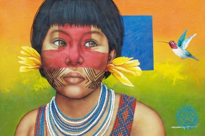 Victor Crisostomo. Современный южноамериканский художник 9