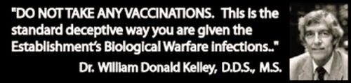 There is no such thing as a safe vaccine.
