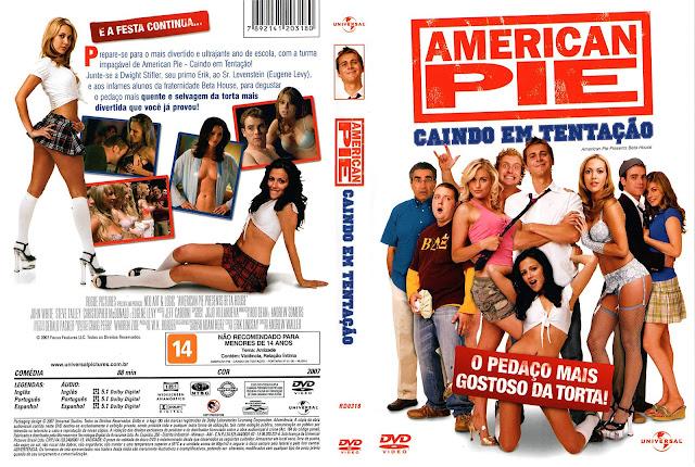 Capa DVD American Pie Caindo Em Tentação