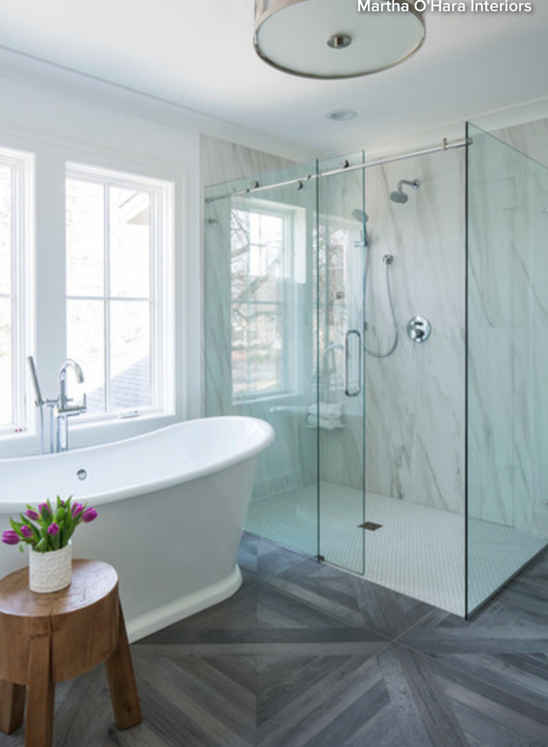 Bathroom Trends of the Day - Traci Connell Interiors
