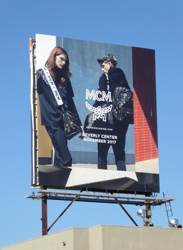 MCM Worldwide FW17 billboard