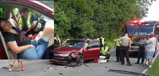Έκανε 1 ΜΕΓΑΛΟ λάθος Μέσα στο αυτοκίνητο, που Κάνουμε πολλοί!! Δείτε τι ΕΠΑΘΕ μετά από τροχαίο
