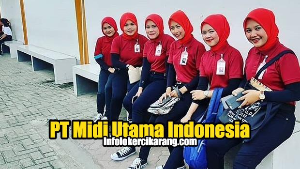 Lowongan Kerja PT. Midi Utama Indonesia (Alfamidi Branch Bekasi)
