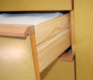 costruiamo i mobili: le guide per cassetti