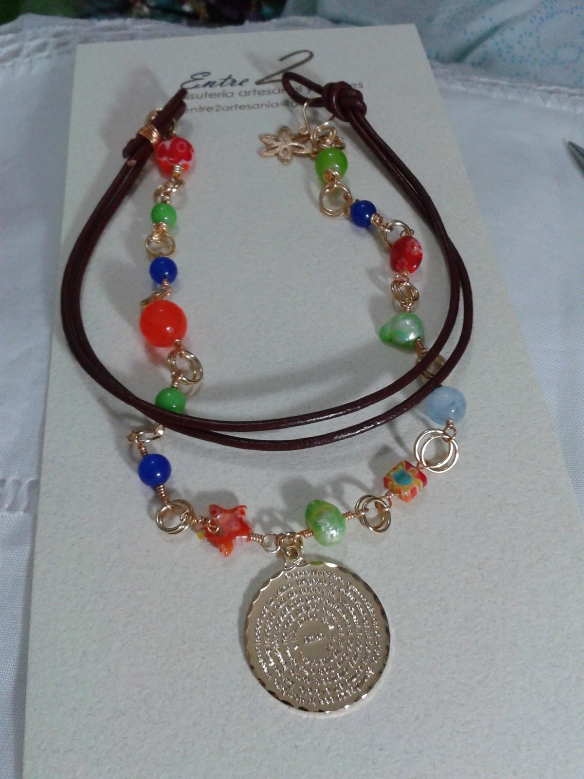 4cd6d236a6b8 entre2artesania.blogspot.com  Collar largo con piedras