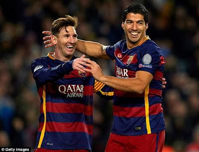 Goleadores del Barcelona