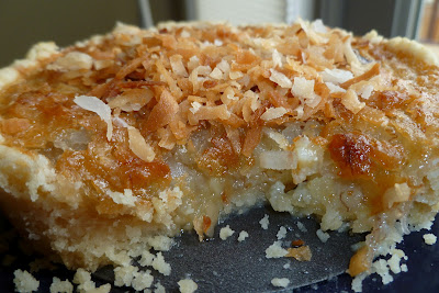 Banana Coconut Tart