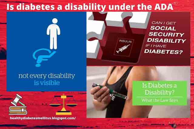 Is diabetes a disability under the ADA