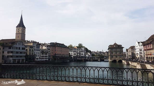 Sobre a Quailbrucke, Zurique, Suíça