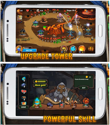 Download Tower Defense Battle v1.3.1 (Mod Apk Money) Terbaru