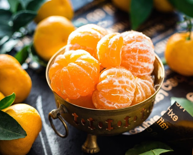 Manfaat buah jeruk manis