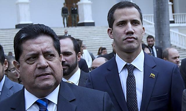 Edgar Zambrano, Juan Guaidó