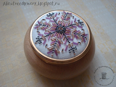 Вышивка бисером шкатулка