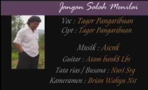 Lirik Lagu Jangan Salah Menilai – Tagor Pangaribuan