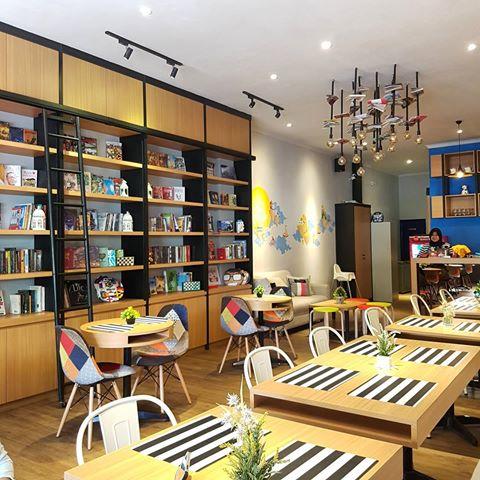 D'SIGN: A Unique Library Cafe Concept