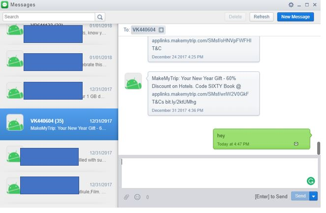 Message Airdroid