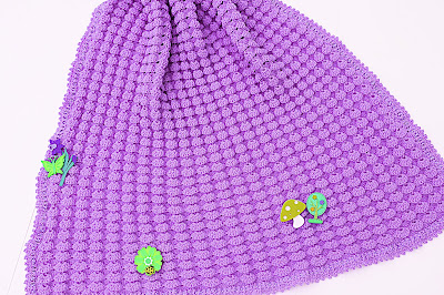 8 - Crochet, imagen linda sencilla cobija a relieve. Majovel Crochet