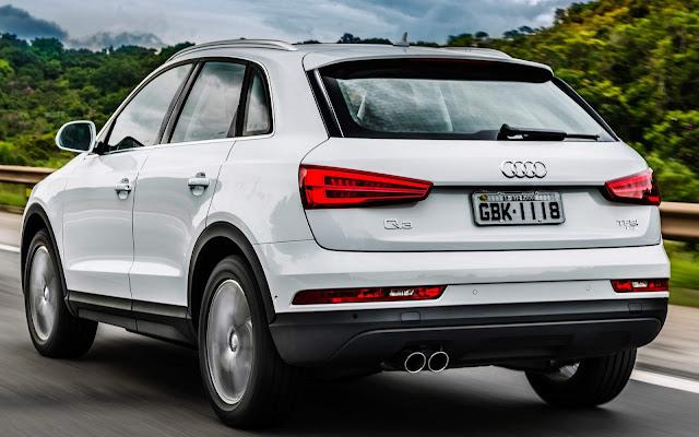 Audi Q3 2018 Flex - carro de luxo mais vendido do Brasil