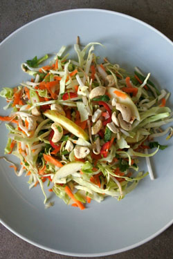 Cabbage Apple Salad