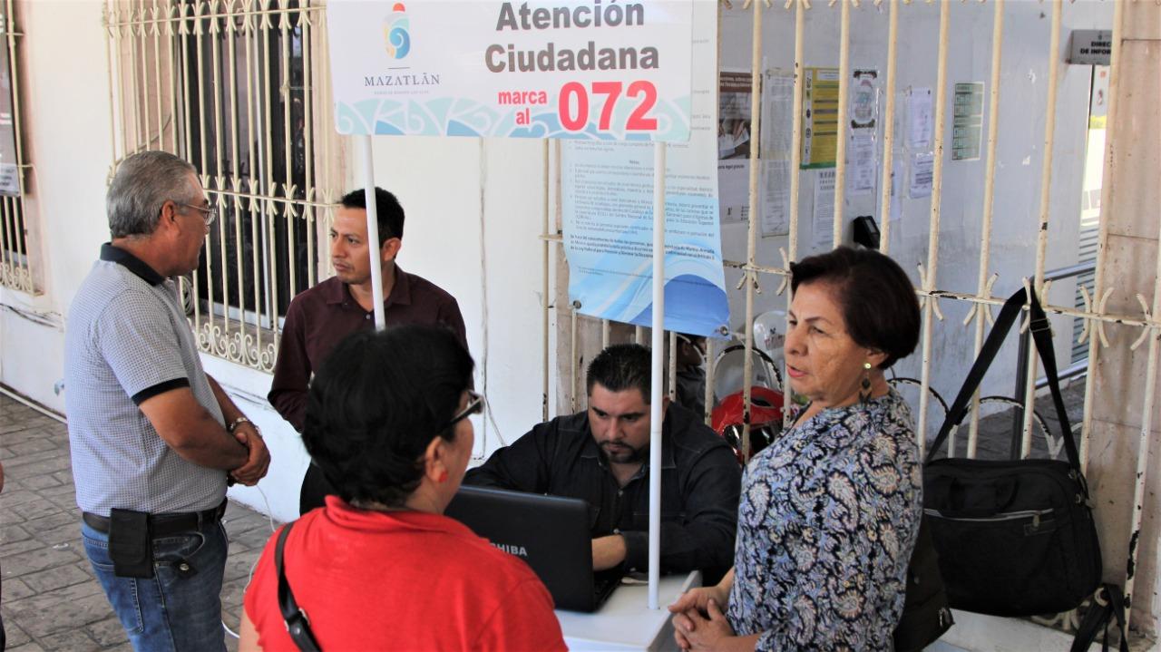 Instalan Módulo De Atención Ciudadana En Palacio Municipal