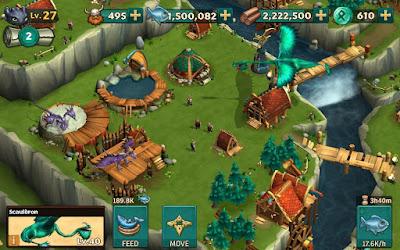 لعبة Dragons Rise of Berk مكركة، لعبة Dragons Rise of Berk مود فري شوبينغ