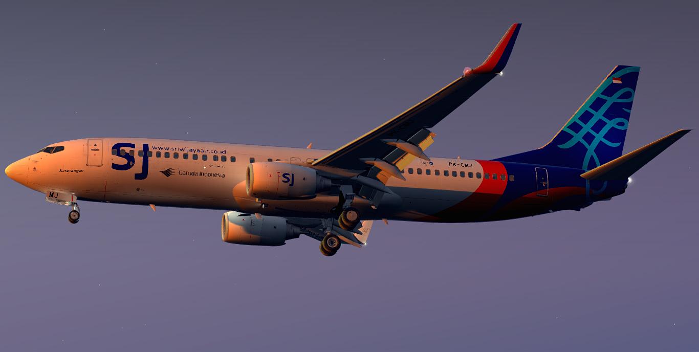 Boeing 737-85P/WL / Sriwijaya Air / PK-CMJ / 2018 Member of