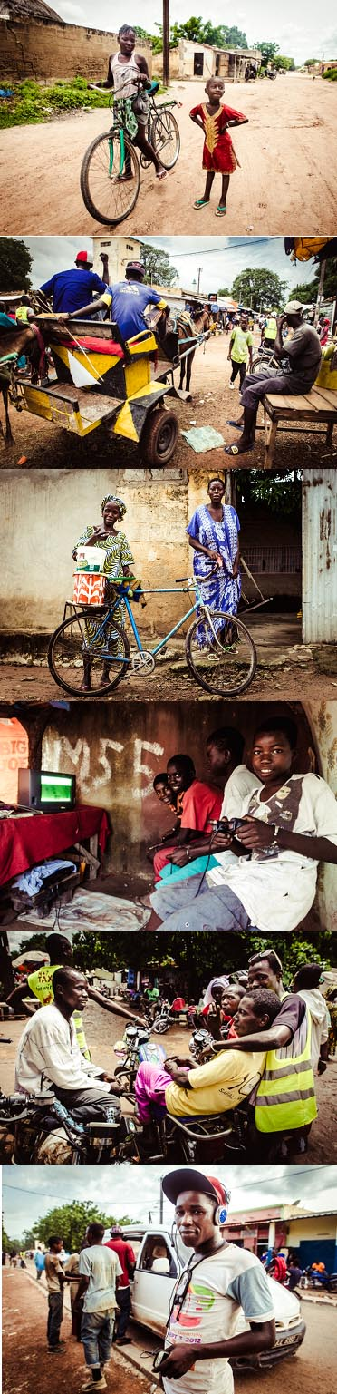 In Velingara Senegal, street photography highlights the humanity of city life in Africa. Photography by La Rue Joyeuse.