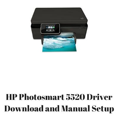 HP Photosmart 5520 Driver Download and Manual Setup