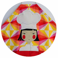 Personalized apron for womans chef