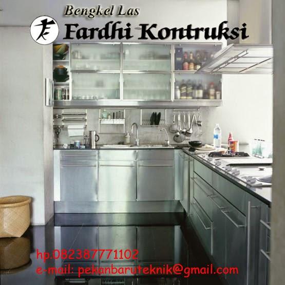 Bengkel Las Murah Pekanbaru Kitchen Set Rak Rak Dan Lemari Stainless