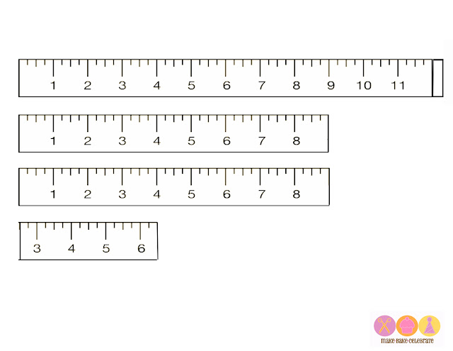 Common Worksheets » Free Printable Ruler - Preschool and ...