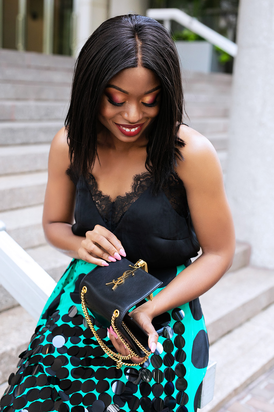Stella-adewunmi-of-jadore-fashion-lace-cami-ysl-kate