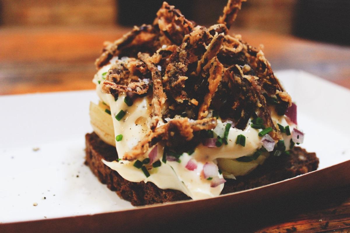 Copenhagen Street Food Market Open Sandwich