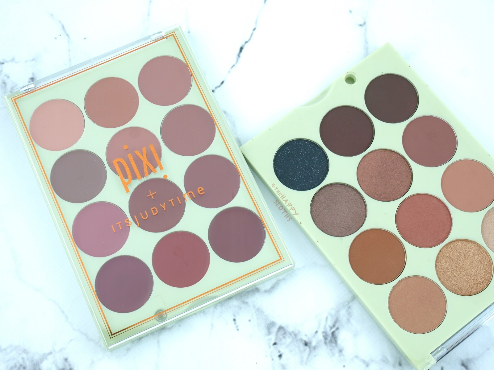 Pixi + itsjudytime Collaboration | ItsEyeTime & ItsLipTime Get The Look Palettes: Review and Swatches