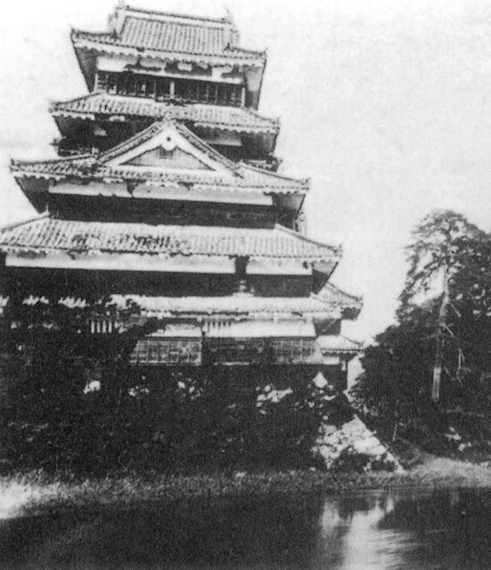 Castillo de Matsumoto en el siglo XIX