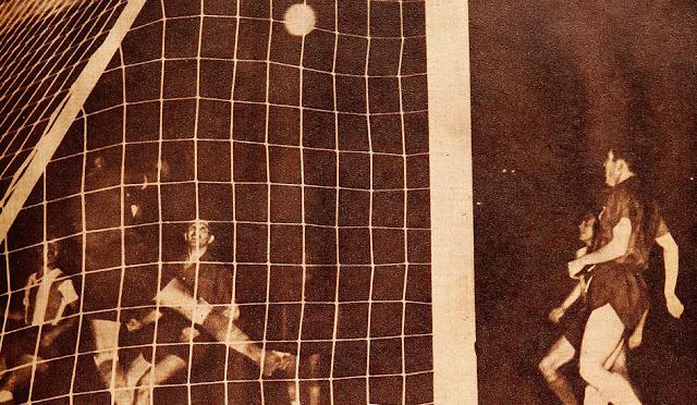 Argentina y Chile en Campeonato Sudamericano de 1947