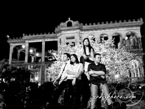 hover_share Senti photoshoot of Eastgate Backpackers at The Ruins in Talisay City Negros Occidental