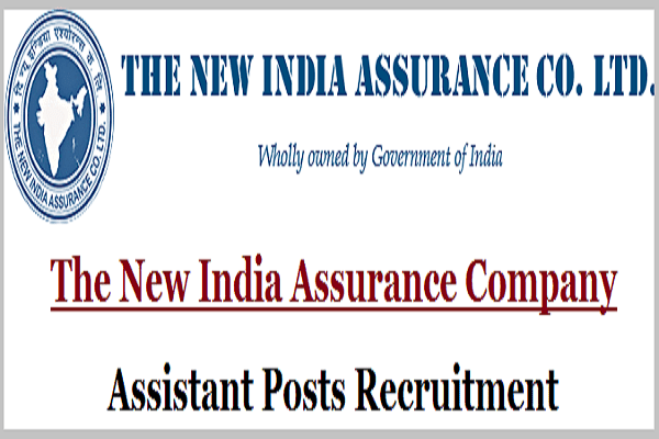 The New India Assurance Company,Assistant Posts,Recruitment 2017