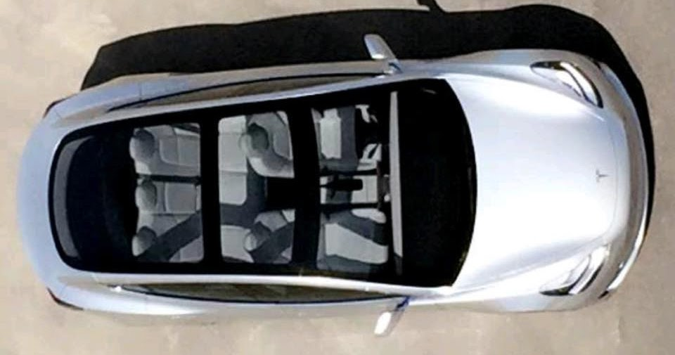 TESLA UPDATES: Take a look at the Model 3's glass roof ...