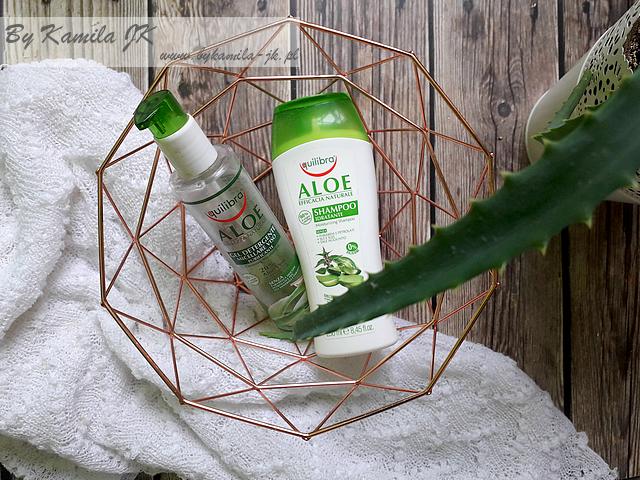 Equilibra aloeswoy szampon i żel micelarny do oczyszczania twarzy