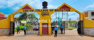 Adeyemi College of Education Ondo PDE Admission Form 2018/2019