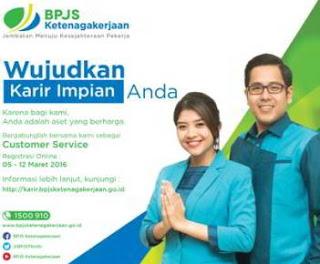 Penerimaan Bagian Pelayanan dan Pemasaran BPJS Ketenagakerjaan