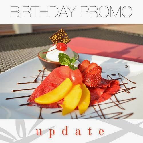 The Food Club Birthday Buffet Promo 2014 Images