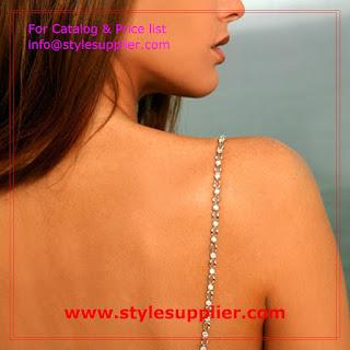 bra straps jewlery
